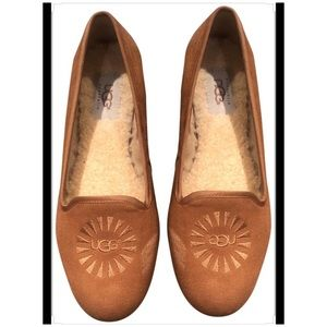 Ugg Australia Women's Chestnut Alloway Flats